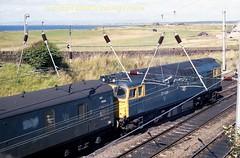 Falkland 27046 9sept86 a405 (Ernies Railway Archive) Tags: ayr falklandyard gswr lms scotrail