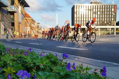 Main group pass (Steenjep) Tags: herning jylland jutland danmark denmark cykling bike race gadeløb streetrace gade vej street road by city riwal cycling team refleks reflex