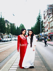 Shabnam, Sabina, 2016-07-16, Amsterdam (Paul Rens Jacobse) Tags: shabnam amsterdam holland nederland netherlands model danseres actrice kunst acteren dans actress theater dance dancing dancer ballet ballerina art photo photography student casting impro improv improvised modern fun love portrait red beauty beautiful pretty gorgeous cute attractive sexy lovely girl young woman female skirt tutu sole white black canon color fashion hair face eyes leg longhair curls blackhair brownhair brunette people leotard smile happy nice babe flexible hot feet foot