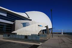 WA Maritime Museum (Paul Threlfall) Tags: wamaritimemuseum wa westernaustralia fremantle perth blue sky lighthouse architecture contemporary museum
