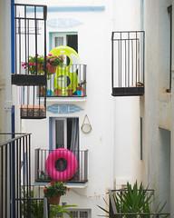 (obvious) (Scoobay) Tags: 8 80 balconies balkon eight spain spanien