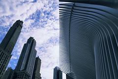World Trade Center (erichudson78) Tags: usa nyc newyorkcity manhattan worldtradecenter building sky skyscraper gratteciel ciel nuages clouds canoneos6d canonef24105mmf4lisusm wideangle grandangle architecture lignes lines