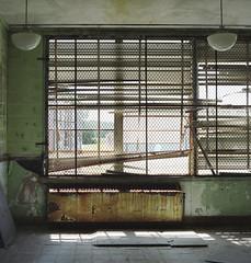 (.tom troutman.) Tags: kodak portra 160 film analog 120 6x6 80mm mediumformat school abandoned