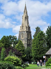 St. Mary's Church, Ambleside, Cumbria, UK (tosh123) Tags: church steeple ambleside park cumbria lakedistrict trees spire architecture arch building listed