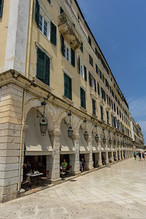 French heritage in Corfu