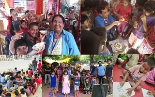Educational seasions conducted on 09.09.2018 at various flyovers/Slums of Delhi, UP, Haryana and Kolkata