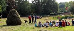 uitleg hooiland (regionaal landschap Schelde-Durme) Tags: waasmunster kinderen pdpo lia natuurbeleving hooiland speelnatuur landschap landbouw biodiversiteit samenwerken
