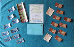 21 Lottery Tickets (genesee_metcalfs) Tags: gifts family card daughter birthday lottery
