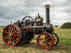 Casterton Vintage Working Weekend 2018 (Ben Matthews1992) Tags: great casterton little rutland leicestershire old vintage historic preserved preservation vehicle transport agriculture agricultural 1930 ruston hornsby traction engine 161250 fw1509 general purpose