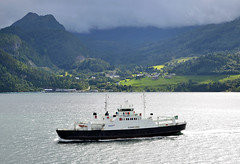 Fjord1 MF Sunnfjord (prahatravel) Tags: stranda liabygda fjord1 mrf møre og romsdal sunnfjord mf ferry ferge geirangerfjorden geiranger fjordferry fergekai carferry norway trip with