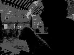 Man & dog (JoséDay) Tags: blackwhite zwartwit bw zw noir dark mandog
