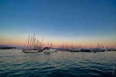 Luka Split (dSLRartist) Tags: canon irix 15mm eos ef nature port dawn sunset sunrise sea ocean blue croatia