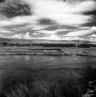 The Dalles Dam, August 2018