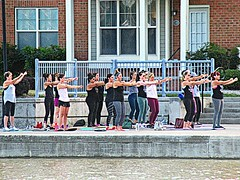 Arms and the women (DannyAbe) Tags: exercise rochester cornhill cornhilllanding