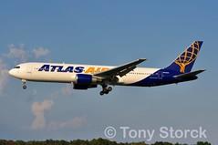 N640GT (bwi2muc) Tags: bwi airport airplane aircraft airline plane flying aviation spotting spotter boeing 767 atlas n640gt 767300 atlasair bwiairport bwimarshall baltimorewashingtoninternationalairport