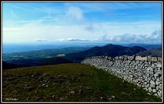 """ Morning on the Mourne Wall "" ("" P@tH Im@ges "") Tags: stonewalls themournes rockymtn clogherhead northernireland irishrepublic carlingfordlough border granite whataboutye"