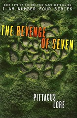 The Revenge of Seven (Vernon Barford School Library) Tags: pittacuslore pittacus lore iamnumberseven lorienlegacies lorien legacies 5 five series sciencefiction science fiction extraterrestrials imaginarywarsandbattles aliencontact alien aliens survival youngadult youngadultfiction ya vernon barford library libraries new recent book books read reading reads junior high middle school vernonbarford fictional novel novels hardcover hard cover hardcovers covers bookcover bookcovers 9780062194725