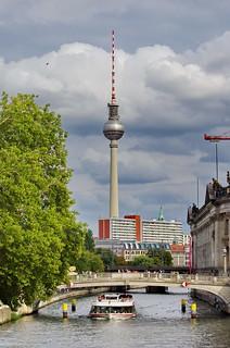 138 - Berlin août-septembre 2018 - Spree, Fernsehturm