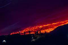 My River runs... (Vulcanian) Tags: etna volcanoetna volcano lavaflow lavatube people eruzione zolfo ash ätna gases hot hephaestus hell eruption