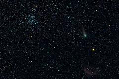 Giacobini-Zinner (pablo_blake) Tags: 21pgiacobinizinner giacobinizinner comet ic443 m35 ngc2158 d5500 ioptron ioptronskyguiderpro nikon ngc2168 gemini nightsky astrometrydotnet:id=nova2799855 astrometrydotnet:status=solved