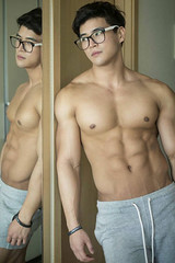 Asian Model (Zephyrider) Tags: handsome beautiful gorgeous model asian man sexy hot hunk jock stud guys mancandy nude dick cock chinese