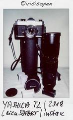 YASHICA TL # 007 # Leica SOFORT Fuji instax mini color - 2018 (íṛíṡíṡôṗĕñ ◎◉◎) Tags: leica sofort fuji instax mini farbe color irisisopen