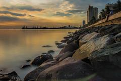Bay-walk Philippines (alvinpurexphotography) Tags: baywalk seascape philippines longexposure travel natgeoyourshot sunset canonme canon dslr