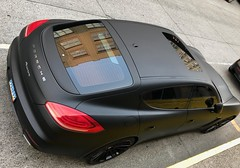 Stealth Porsche. Portland. August 2018 EXPLORE (drburtoni) Tags: