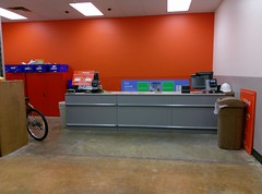 Pickup counter (during remodel view) (l_dawg2000) Tags: 2000 2000s christmas departmentstore discountstore grocery holidays holidays2013 mississippi ms olivebranch retail store supercenter wallyworld walmart xmas unitedstates usa