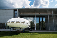 The aliens are coming. (Phototravelography) Tags: bavaria bayern building deutschland germany munich museum münchen pinakothekdermoderne stephanbraunfels ufo aliens architect architecture art exhibition extraterrestrials foreigners gallery spaceship strangers visitors