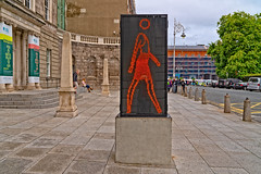 SUZANNE MOVED FROM O'CONNELL STREET IN 2008 TO THE HUGH LANE GALLERY AT NORTH PARNELL SQUARE [ARTIST - JULIAN OPIE]-143441 (infomatique) Tags: modernart publicart pasrnellsquarenorth actualstreets realstreets culture art suzannewalking julianopie 2018 august streetphotography williammurphy infomatique fotonique excellentstreetimages sony a7riii