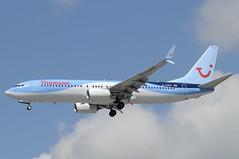 G-TAWU (LIAM J McMANUS - Manchester Airport Photostream) Tags: gtawu thomsonairways thomson tom by worldoftui boeing b737 b738 738 b73h 73h boeing737 boeing737800 manchester man egcc