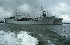 RFA Sir Galahad & RFA Sir Percivale (Dub.Hundley) Tags: rfa sir percivale galahad landing fleet auxiliary royal