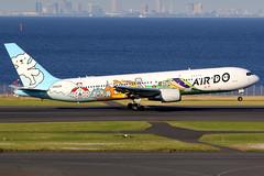 Air Do | Boeing 767-300 | JA602A | Bear Do Hokkaido Jet | Tokyo Haneda (Dennis HKG) Tags: airdo ado hd hokkaido aircraft airplane airport plane planespotting canon 7d 100400 tokyo haneda rjtt hnd boeing 767 767300 boeing767 boeing767300 ja602a