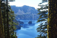 Crater Lake, OR (dirklie65) Tags: phantomship bäume trees insel island usa oregon vulkansee vulkan krater see blue blau shipwreck park national lake crater