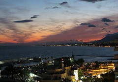 Sun Sets On Marbella! ('cosmicgirl1960' NEW CANON CAMERA) Tags: marbella spain espana andalusia costadelsol sunset sky clouds colourful lights travel holidays yabbadabbadoo