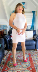 Pink (Trixy Deans) Tags: sexy xdresser sexyheels sexytransvestite sexylegs sexyblonde tgirl tv transgendered transsexual transvestite tgirls transvesite trixydeans dress lbd highheels heels heelssexy hot