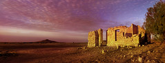 Abandoned (ChrisKirbyCapturePhotography) Tags: abandoned abandonedhouse lakeharryruins ruins northofsouthaustralia sunrise pink pinksky dawn outback