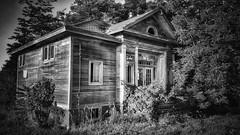 in a lone star state now.... (BillsExplorations) Tags: school schoolhouse oldschool ruralschool countryschool texas lone star lonestarstate old forgotten abandoned abandonedschool shuttered