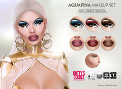 Dotty's Secret - Aquafina - Makeup Set (Dotty's Secret - Drag Queen Make-up) Tags: ad ads advertising secondlife avatar dottyssecret dottysecret applier original creation catwa omega classic shop shopping sl marketplace makeup fashion head eyeshadow lipstick fierce fishy lgbt eleganza fabulous dragqueen drag queen lelutka aquafina aquaria