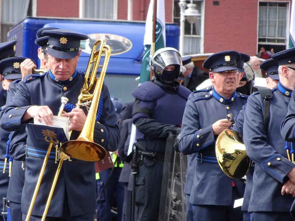 NATIONAL SERVICES DAY [PARADE STARTED OFF FROM NORTH PARNELL SQUARE]-143638