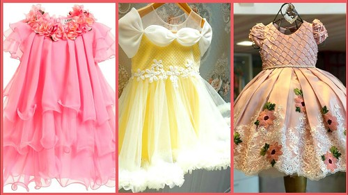 cd4447f7469e Latest Baby Ball Gown Dress Buy Online//Kids Princess Style Frocks// Party