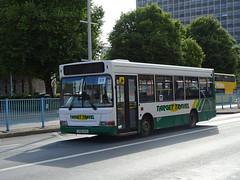 Target Travel LX05EYA (Devon and cornwall Bus Spotter) Tags: ltd devon target travel plymouth lx05eya dennis dart mini pointer service 59 bus
