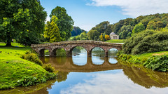 Stourhead (Ian Emerson (Thanks for all the comments and faves) Tags: nationaltrust house grounds gardens water lake reflection wiltshire england uk trees beauty