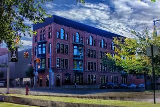 Van Wert  -  Ohio  - Former Central Insurance Company  as a fire insurance company - Former Building - 1976