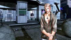 Where's My Taxi? (Ivo Rossini) Tags: secondlife secondlifelocation secondlifeplacestovisit secondlifedestination secondlifebeach secondlifemale secondlifemen secondlifemeshbody secondlifemaleavatar secondlifesexy modulus catwa bento
