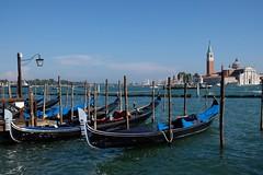 Blue (HonleyA) Tags: venice italy lagoon gondola travel fuji xpro2