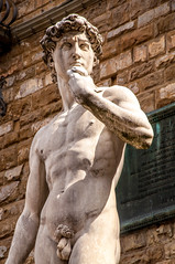 Icons of Florence #2 (Tony Shertila) Tags: po architecture art azura azuracruise building city classical david davinci europe fiorence florence italy marble michelangelo sculpture statue structure vacation 20180330115832cruiseshipazoraflorencelr michaelangelo
