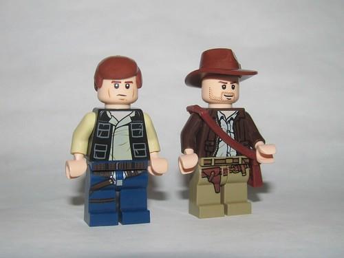 LEGO Han Solo and Indiana Jones