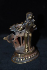 Indian Bronze Lakshmi Dipper Lamp (TREASURES OF WISDOM) Tags: indianbronzelakshmidipperlamp lakshmi dipper lamp gee butter deep love longevity look like wow wonderful worship what is this exhibition ethnographic ritual religious tribal art yes unusual unseen unknown intresting item indian bronze idol om offering old pagan puja prayer artefact artifact asian ancientworld spiritual shamanic spirituality sacred shrine spirit statue deity fantastic faith figure folk goddess healing hindu hinduism hunduism collection ceremonial view vibes visit votive brilliant